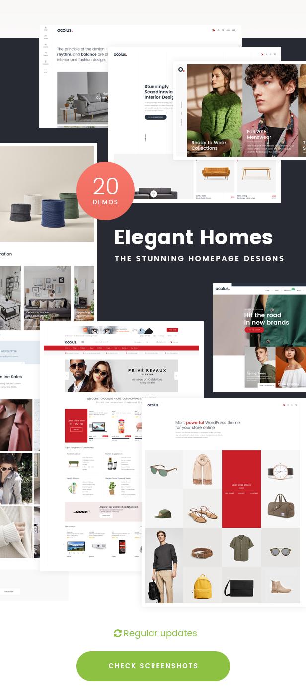 Ocolus - Creative & Modern Multi-Purpose eCommerce PSD Template - 6