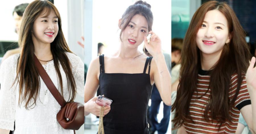 Dàn mỹ nhân Kpop đổ bộ sân bay: Hani đẹp như thiên thần!