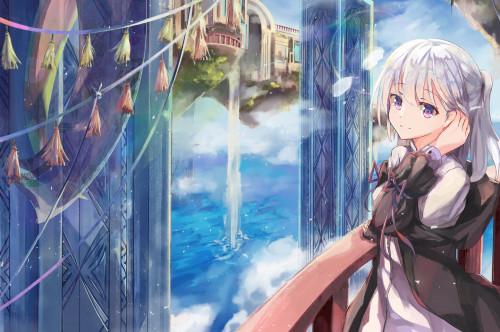 anime-girl-white-hair-fantasy-landscape-castle-waterfall.jpg